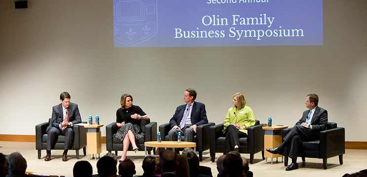 Second annual Olin Family Business Symposium