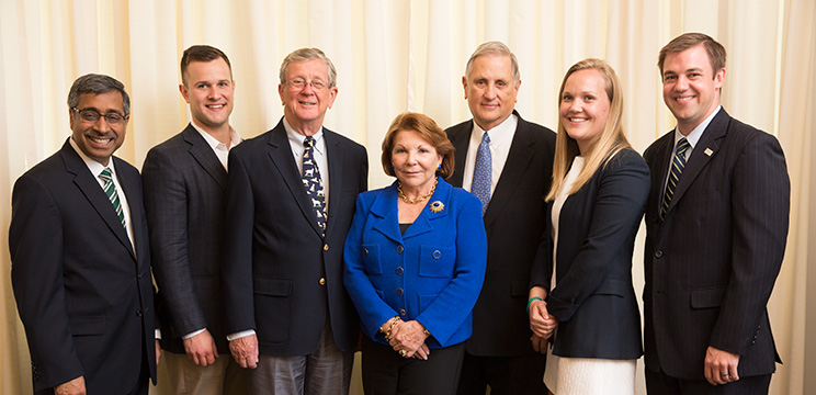 The Koch family provided funding to launch the Olin Family Business Program