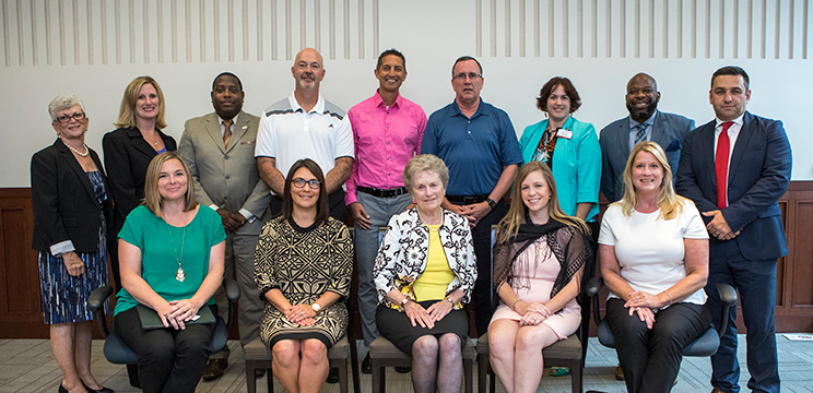 Graduates from the Nonprofit Leaders Certificate in Business Management