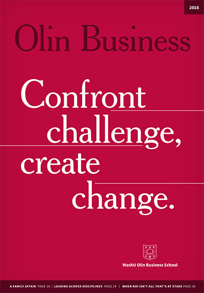 Olin Business magazine