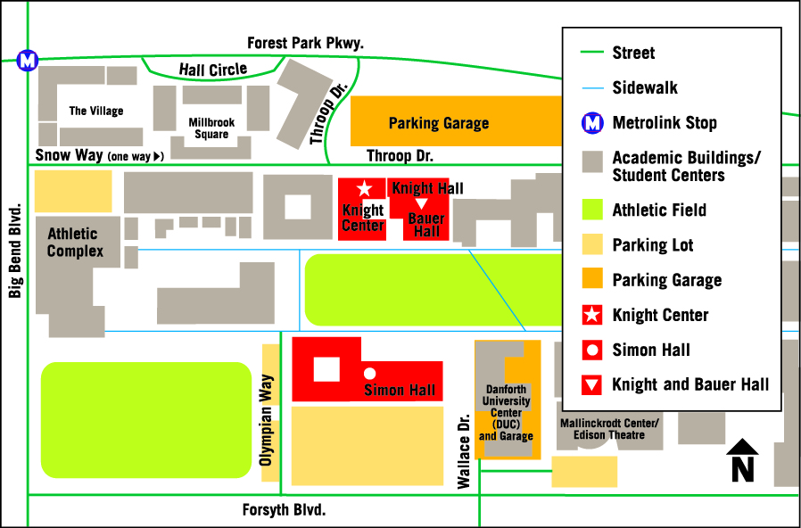 Knight Center Directions | WashU Olin Business on