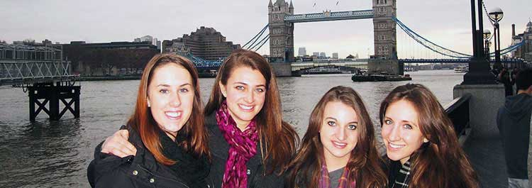 Combine study abroad with an internship.