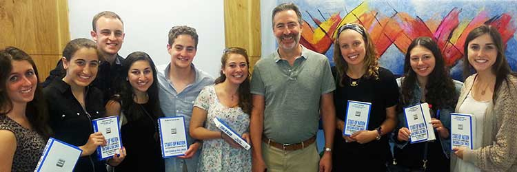 Students learn what drives entrepreneurship in Israel.