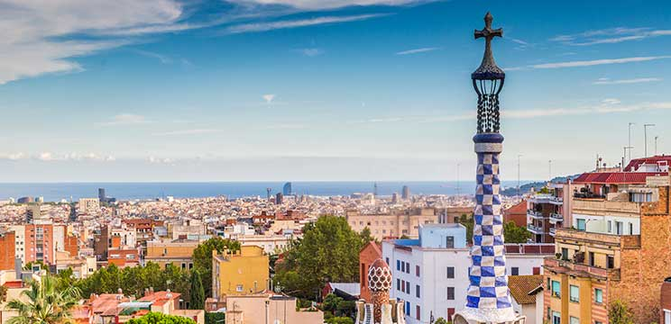 Barcelona is the second stop on your global immersion