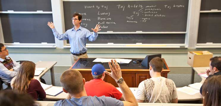 Our small class sizes mean our professors are invested in your success.