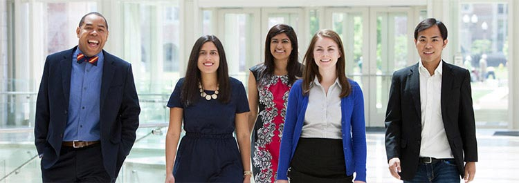 Olin MBAs come from diverse backgrounds and pursue a wide variety of careers.
