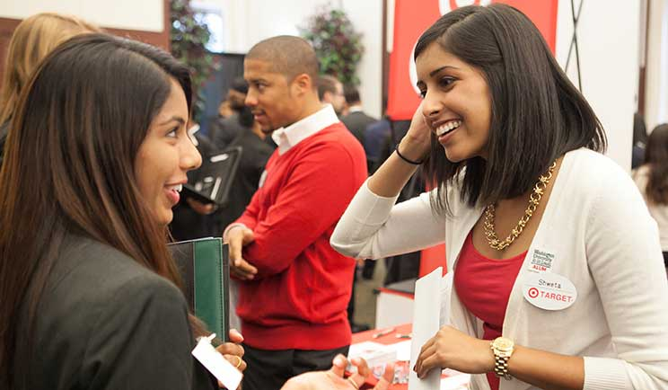 Students meet recruiters at Meet the Firms